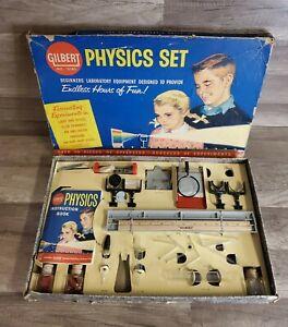 VINTAGE 1960 A C GILBERT PHYSICS SET NO. 15180
