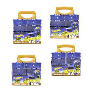 Mattel Hot Wheels Sammelkoffer 4x Vitrine 8ter Box einzeln endlos erweiterbar
