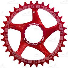 Race Face Narrow Wide Cinch Direct Mount Chain Ring Red 34t Tooth
