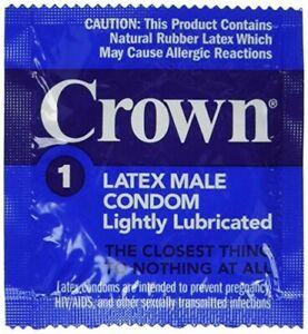 Okamoto CROWN Condoms ~ Skinless Skin ~ 100 PACK ~