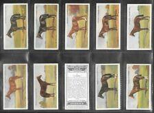 """OGDENS 1928 SCARCE ( SPORTS ) FULL 50 CARD SET """"""""  DERBY ENTRANTS 1928  """""""""""