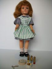 Vintage Ideal Harriet Ayer Make-Up Doll 1953 With Magazine Advertisement