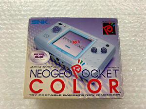 Console Neo Geo Pocket Color Pearl Blue SNK Japan