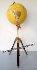 Antique Replica Replogle Globe World Classical Series Raised With Tripod Stand