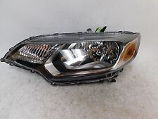2015 2016 HONDA FIT  LEFT DRIVER HALOGHEN HEADLIGHT W/ CLEAR LENS OEM
