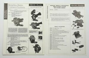 BEAULIEU 16 16mm CINE MOVIE / CAMERA SYSTEM S * PRICE PAMPHLET * MARCH 31, 1973