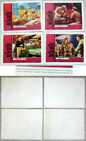 """7 Lobby Cards / Aushangfotos  """"Man in the Middle""""  Robert Mitchum US 1964"""