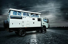 Camper 4x4 off road expedition