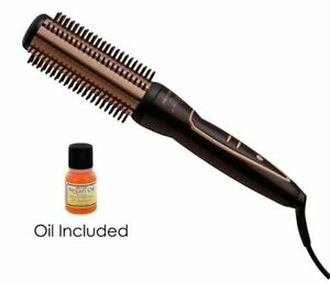 "NEW!! ONE 'N ONLY 1 1/2"" ARGAN OIL INFUSED HEAT CERAMIC HOT AIR BRUSH DRYER IRON"