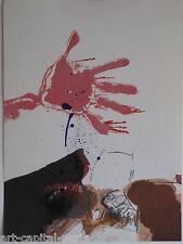 REBEYROLLE PAUL LITHOGRAPHIE ORIGINALE DERRIÈRE LE MIROIR DLM 1967 LITHOGRAPH