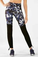 FABLETICS Floral Print  Cashel Foldover Powerform Legging, Medium