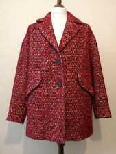 Trench & Coat By Lener Brilliant2 TT Arma Coat Red Size uk16