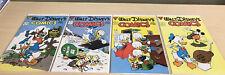 Walt Disney's Comics and Stories #516,517,518,519 (9.4+) Donald Duck/Gladstone