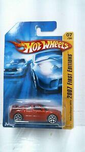 2007 Hot Wheels 7/180 2007 New Models Dodge Charger SRT8