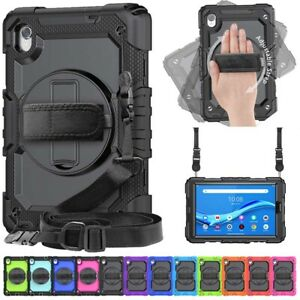 Shockproof Screen Protector Rotating Case Cover For Lenovo Tab M8 8505F/X 8705F