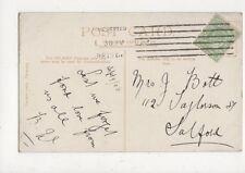 Mrs J Bott Taylorson Street Salford 1906 719a