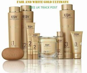 Fair and White Gold Ultimate-Facial Care Products-NEW-FREE UK TRACK POST!!!!