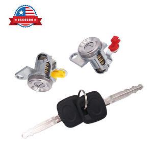 Pair Door Lock Set w/Key Fit for 93-95 Geo Prizm 93-97 Toyota Corolla 6905113150