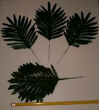 36 Silk Palm Fern Leaf Stems, Wholesale Floral ,Memorial ,Weddings,Etc.