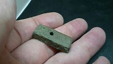 Lovely rare Roman bronze ingot most likely used as pendant found near York L399