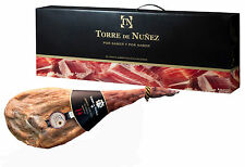 Spanish Serrano Reserva Ham Jamon cured for 14 months+Ham Stand+Ham Carving Tool