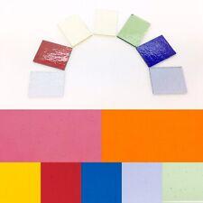 Rainbow Bullseye Fusing Glass COE90 Fused Supplies Craft Bundle Microwave Kiln