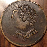 1820 LOWER CANADA HALF PENNY TOKEN BUST AND HARP IN HIGH GRADE !