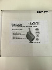 Addon 200 Mbps Homeplug with Bulit-in Wireless-N Adapter NHP2010