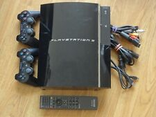 Sony PS3 Console 409B-CBEH1000 with Two wireless controlers & Remote control