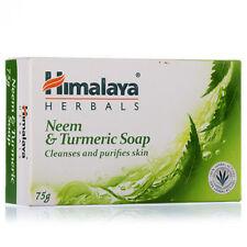 Himalaya Neem & Turmeric Soap 75g Cleanses And Purifies Skin Set Of 4