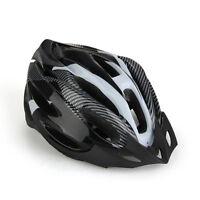Black Bicycle Helmet Mountain Bike Helmet for Men Women Youth NEW F6O0