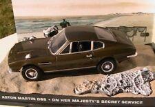 DIORAMA ASTON MARTIN DBS JAMES BOND 007 ON HER MAJESTY