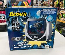 "Batman 13"" Color TV Monitor Model KSM6001 With Remote NEW IN BOX"