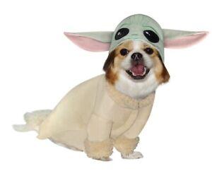 Star Wars Disney The Mandalorian Baby Yoda Puppy Halloween Dog Costume Medium