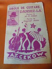 Partitura Divertido dev guitarra Danza de la AT Fernand Cekow André