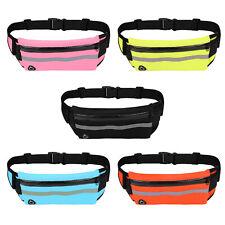 Running Belt Unisex Sport Jogging Keys Mobile Money Bum Bag Waist Travel Pouch