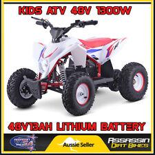 Assassin USA KIDS Electric ATV QUAD 48V 1300W LITHIUM BATTERY Scooter Dirt Bike