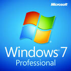 Microsoft Windows 7 Professional PRO 32/64 Bit Full Version SP1 + Product Key