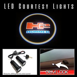Lumenz C3 LED Courtesy Logo Lights Ghost Shadow GOBO for HUMMER H2 100597