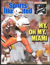 Sports Illustrated 1987 Miami 'Canes QB Steve Walsh No Label Excellent
