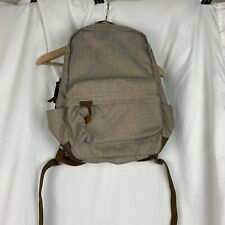 Timbuk2 Backpack Canvas Leather Brown NWT Comfort