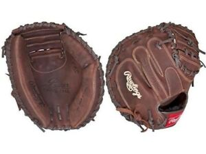 """Rawlings Adult Player Preferred Baseball Catchers Mitt 33"""" Right Handed PCM30"""
