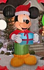 RARE NEW GIANT 9 FT TALL DISNEY CHRISTMAS MICKEY MOUSE PRESENT INFLATABLE GEMMY