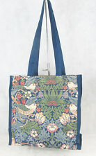 Tapestry Stawberry Thief Bird Shopper Tote Bag -Signare