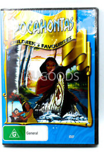 Pocahontas - Children's Favourites -Rare DVD Aus Stock Comedy New