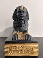 Egyptian Sphinx Statue  of Spiritual Significance Resin & Stone Heavy Statue