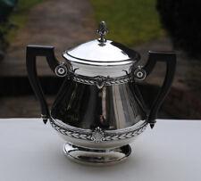 SUCRIER EN ARGENT MASSIF VERMEIL Sterling Silver Sugar Bowl