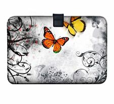 """Luxburg 11"""" - 13"""" Ultra Slim Sleeve Soft Case Cover for MacBook Air Retina Butterflies in The White 30 5 Cm (12 Zoll) Notebook"""