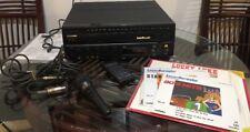 Vintage Working Pioneer CLD-V720 LaserDisc Player Laser Karaoke player Mic Remot