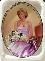 """Bradford Diana """"PRINCESS OF COMPASSION"""" Queen of Our Hearts Plate #6303A"""